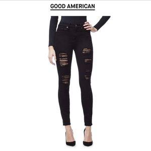 Good American Good Legs Black B549 12/31